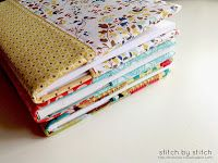 Tutorial - How to Make a Fabric Book Cover