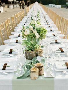 table mariage avec déco éclectique