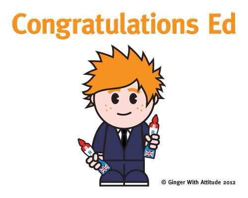 Congratulations to Ed Sheeran for his two BRIT awards!