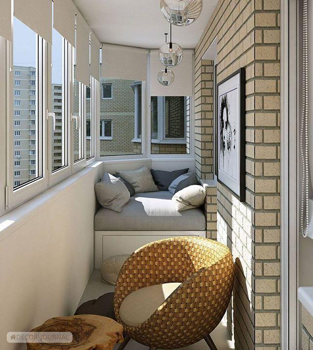 Балкон #интерьер #дизайн #декор #дизайнинтерьера