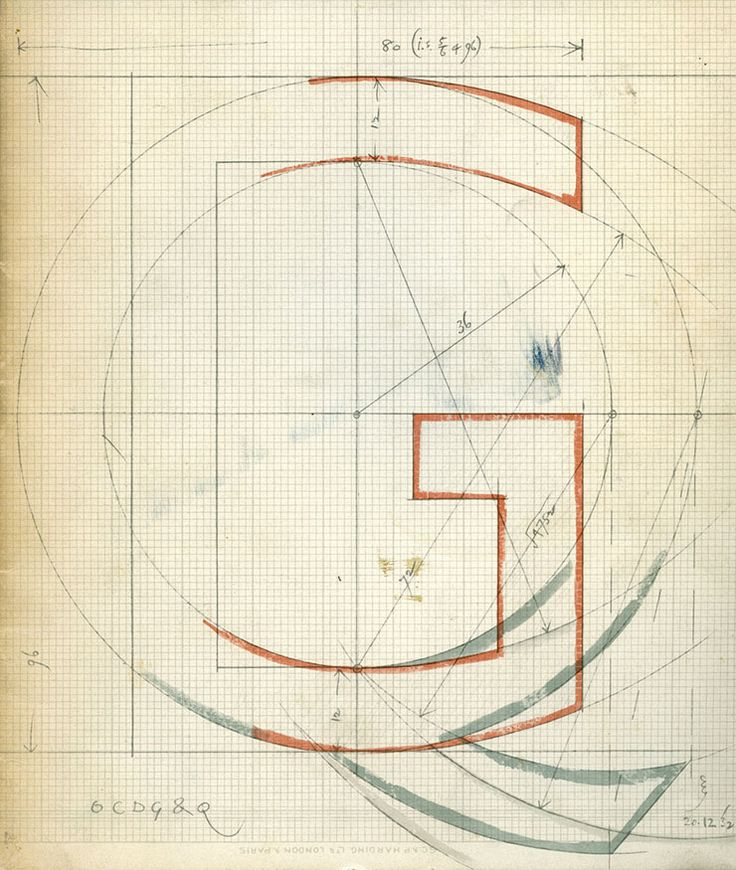 Eric-Gill-typographe-UK-dessin-croquis-atypographie-Gill-sans-1932