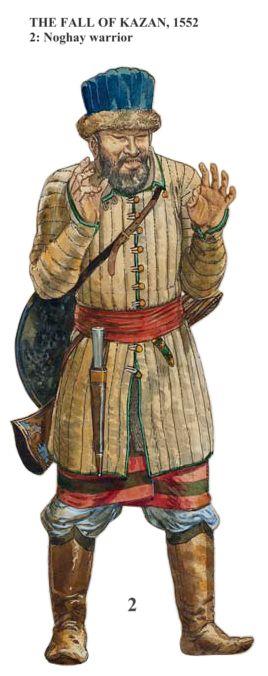 Nogai warrior, Siege of Kazan (1552)