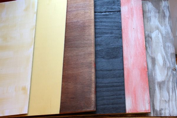 diff colored boards for food photography + photo tips at recipe girl