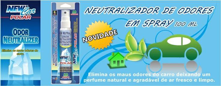 O neutralizador de odores em spray é eficaz a eliminar os maus odores do carro deixando um perfume natural e agradável de ar fresco e limpo. http://www.repincol.pt/loja-acessorios-auto/ambientadores/ambientador-neutralizador-de-odores/art-40644/l-d-aromaticos.aspx Neutralizador de Odores em Spray 60 ml (Blister) - Preço: 2,76€ http://www.repincol.pt/loja-acessorios-auto/ambientadores/ambientador-neutralizador-de-odores/art-40643/l-d-aromaticos.aspx