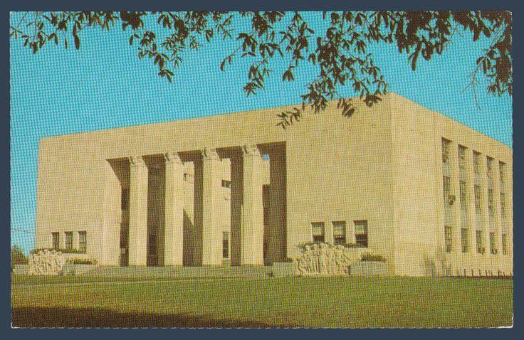 Postcards - United States #  807 - War Memorial Building, Jackson, Mississippi