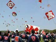 Hamamatsu Festival (Kite fighting & night float parade), annually May 3-5. Good memories!