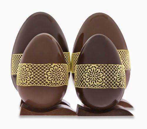 A delicadeza da renda invade os ovos de chocolate e trazem leveza a casca deliciosamente dura. Selecionamos duas ideias de ovos rendados que...