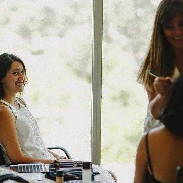 Una linda tarde de Maquillaje para Novia, Madrina y Hermanas, me encanta mi trabajo!!