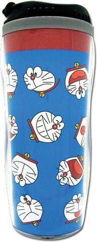 Doraemon Faces Tumbler Mug - HobbyStuf