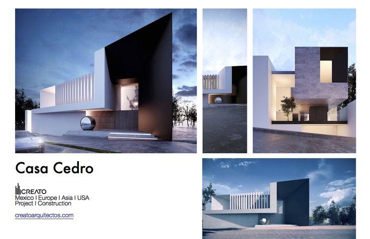 #amazing #contemporary #facade #creato #project #architect #design #luxury #Mexico