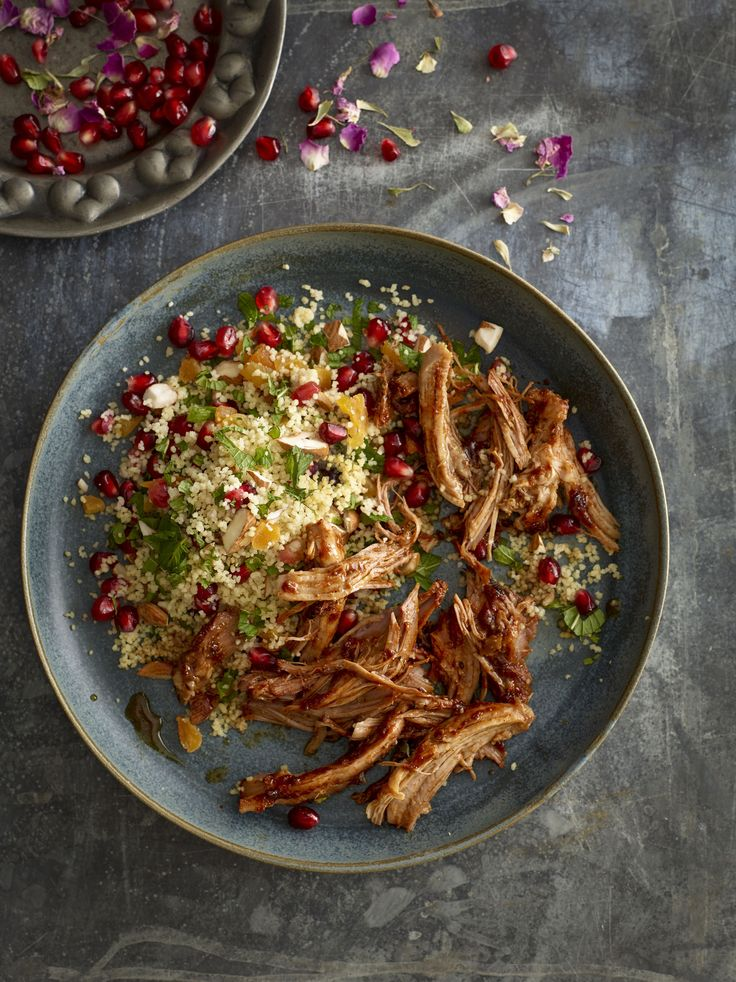 Pulled Pork with Fruity Cous Cous