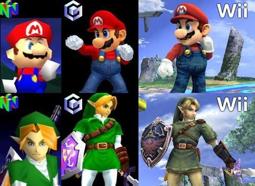 Super Smash Brothers. I have all three of these games! ^_^