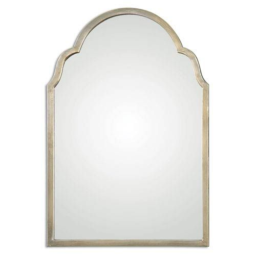 Brayden Silver Arch Mirror Uttermost Wall Mirror Mirrors Home Decor
