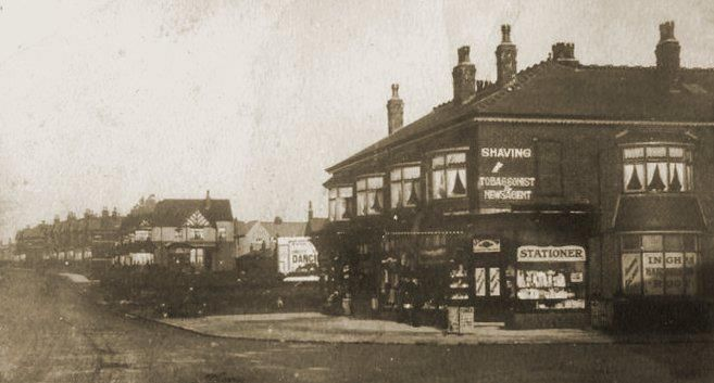 Westcliffe Drive. Onslow Road to the right of the shop