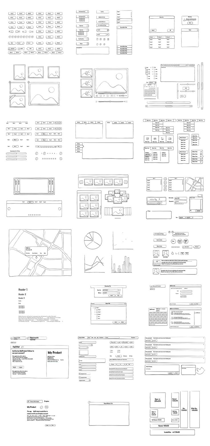 Free Sketch UI Kit for iOS, Android, Web,...