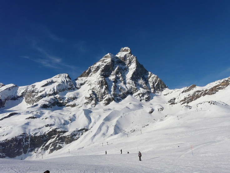 Up and over the Matterhorn