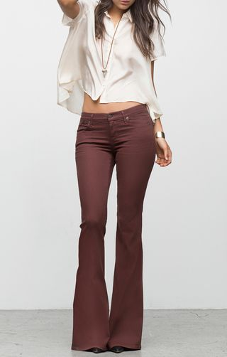7 Ways to Wear Flare Jeans: How to Wear Flare Jeans: Outfit Ideas