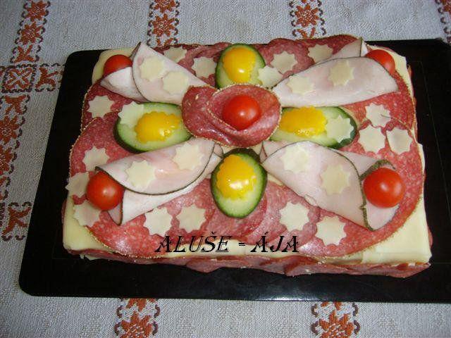 14 - první slaný dort