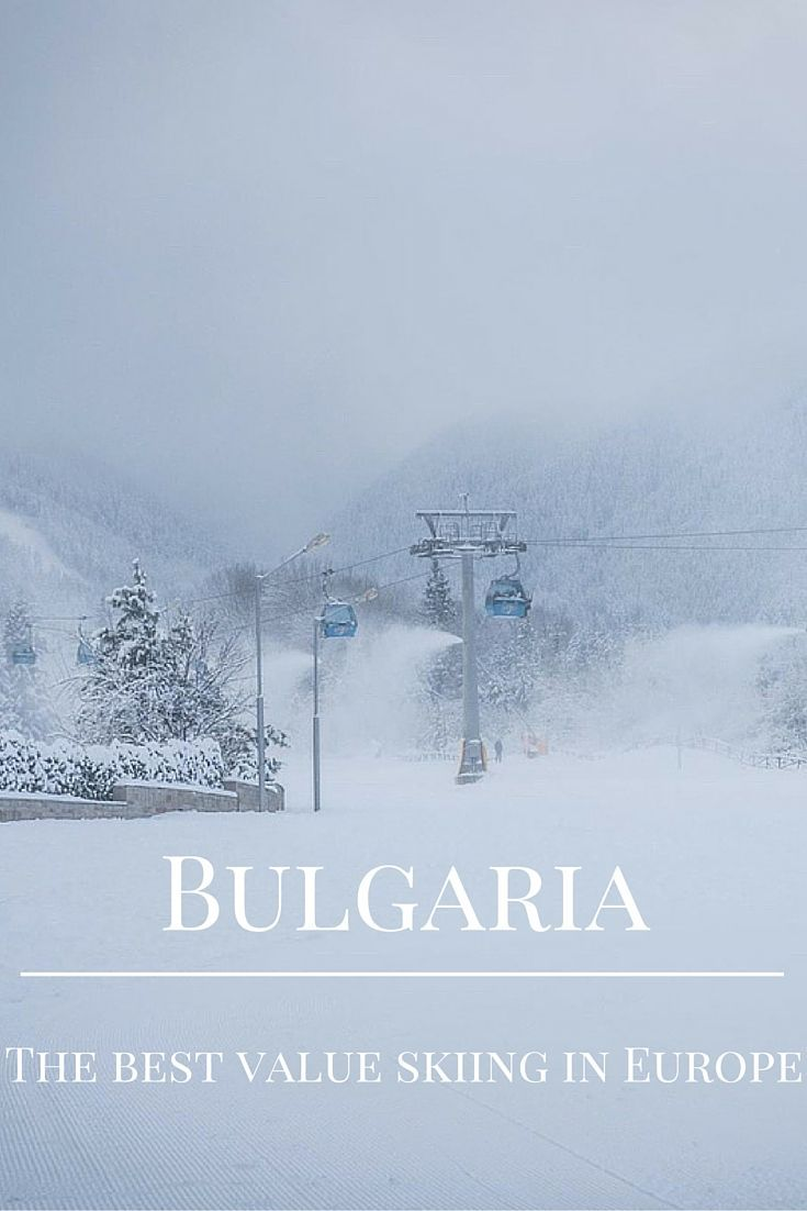 Bulgaria is becoming an increasingly popular ski destination. Word is getting out about the very affordable prices and stunning wintery landscapes.