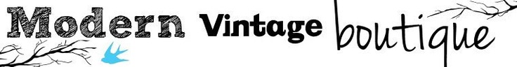 Modern Vintage Boutique: This place is great for vintage jewelry!