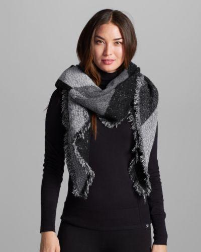 s marled blanket scarf eddie bauer style me