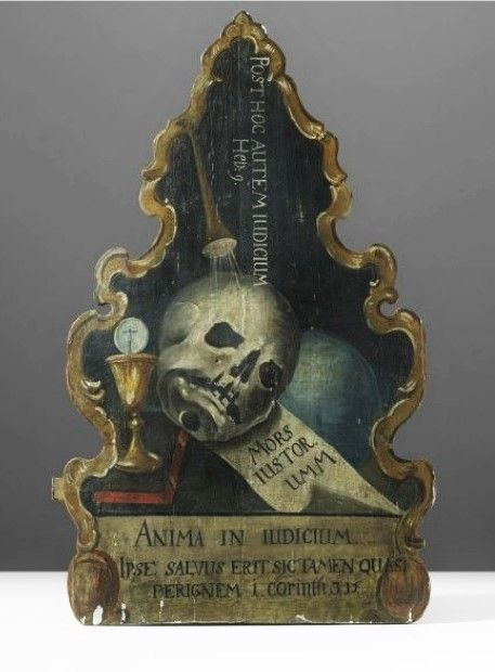 Death & Catses - blackpaint20: 18th Century memento mori Italy,...
