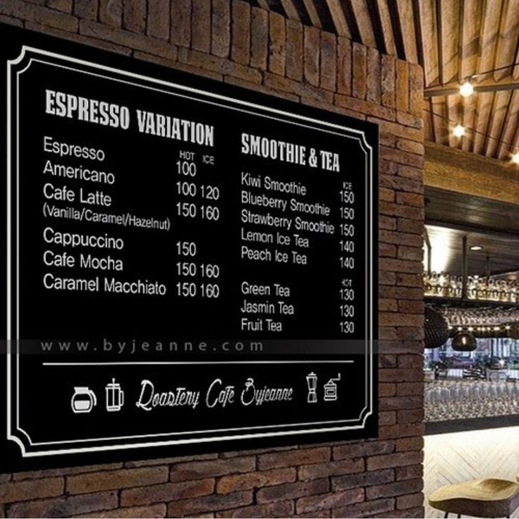 The 25+ best Cafe menu boards ideas on Pinterest Cafe interior - Cafe Menu Template