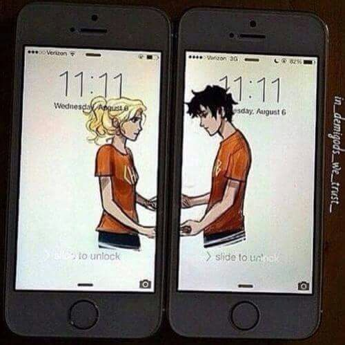 Imagen de percy jackson, annabeth chase, and love