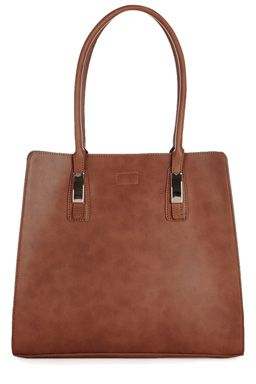 This classic leather-look tote features two sturdy top carry handles, structured design, high-shine hardware and interior compartment with secure zip closure.Fabric:Main: 100.0% Polyurethane.Wash care:Do Not CleanProduct code: 02282506 Price: £45.00