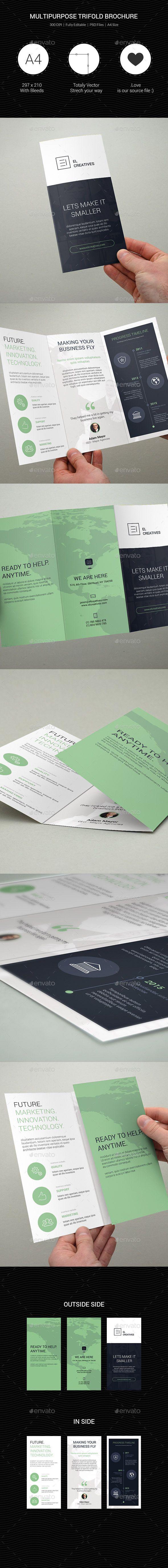 Multipurpose Creative Trifold Brochure - 07