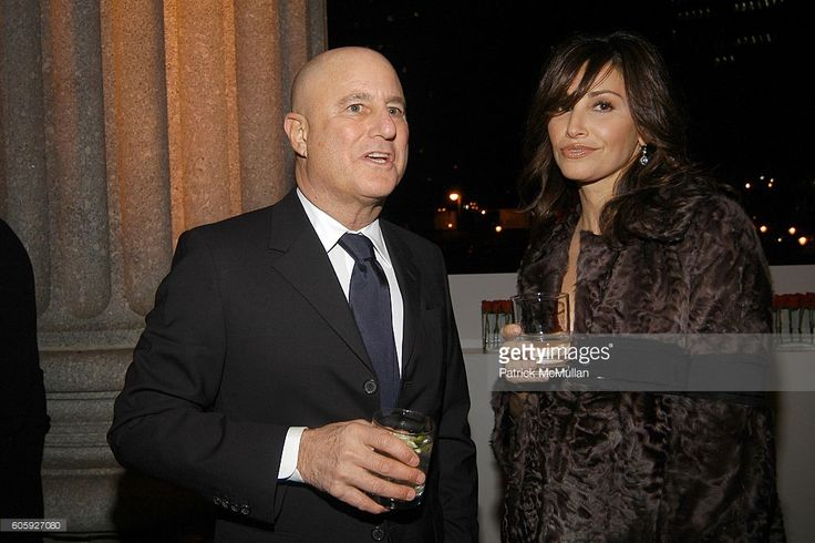 Ronald Perelman and Gina Gershon attend VANITY FAIR Tribeca Film Festival Party hosted by Graydon Carter and Robert DeNiro at The State Supreme Courthouse on April 26, 2006 in New York City.