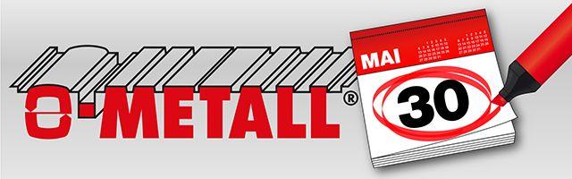 Trapezbleche können Sie auch heute am Vatertag kaufen. Wir haben geöffnet. http://www.o-metall.com/de/om_news/oeffnungszeiten_30_mai_2014.htm