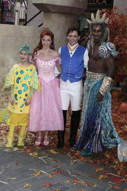 """From Sierra Bogges' Facebook page- """"Little Mermaid on Broadway 2007"""""""