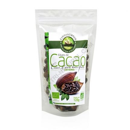 fèves de cacao criollo crues bio