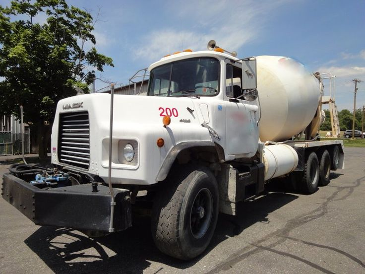 16 best images about big trucks on pinterest tow truck for Cement mixer motor for sale