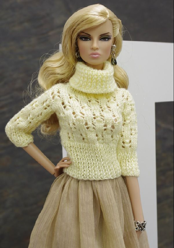 barbies dolls crochet sweaters ~Gemini~  46.3.34