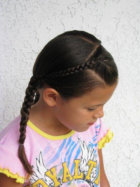 Quick fun easy do #hair #girls #braids