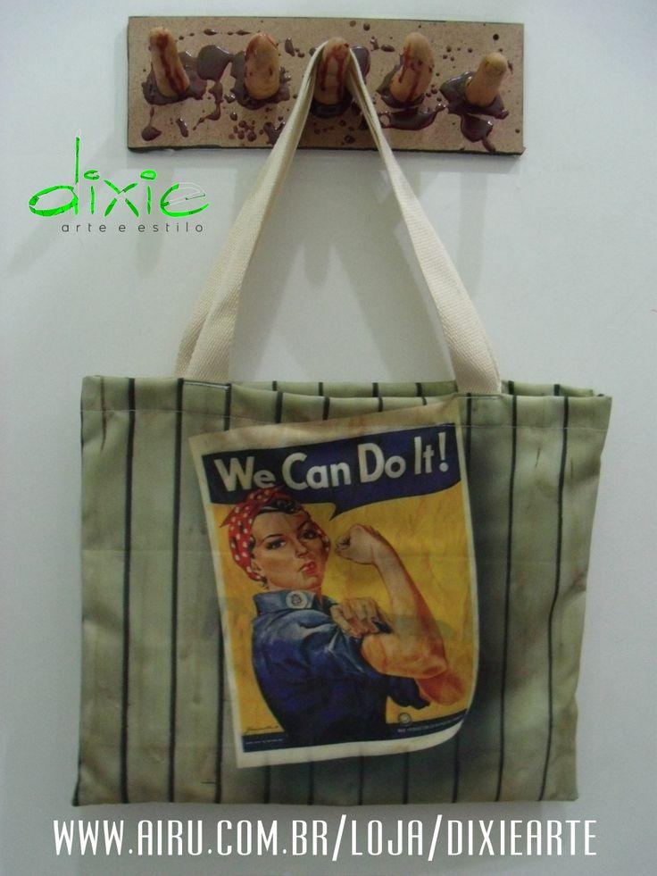 Bolsa We Can Do It!  www.airu.com/loja/dixiearte