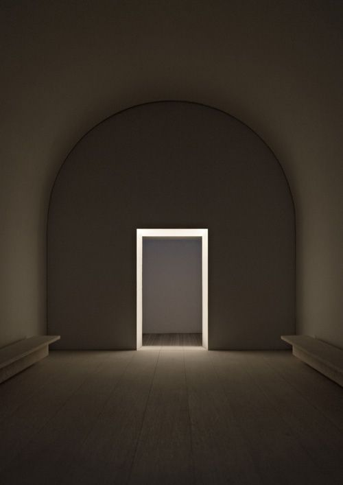 John Pawson    The simplicity of this is so meaningful and beautiful.  The door…