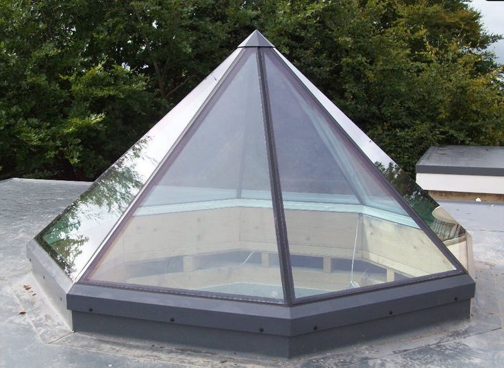 Octagonal pyramid - self cleaning skylight   ceilings and ...