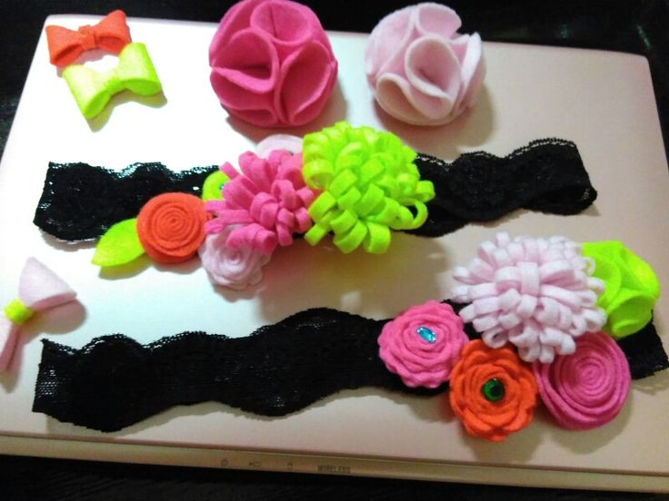 Baby girl headband & hairclip