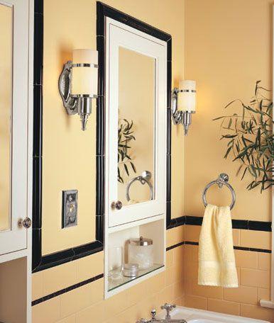 74 best art deco bathrooms images on pinterest bathroom Art Deco Kitchen Cabinet Pulls art deco chrome cabinet knobs