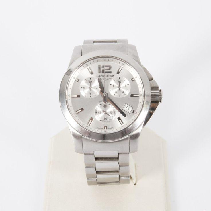 Los relojes #Longines de la colección Conquest, combinan artesanía tradicional con técnicas innovadoras en una búsqueda eterna de rendimiento. Reloj LONGINES CONQUEST L3.660.4 de segunda mano. #reloj #segundamano #relojes
