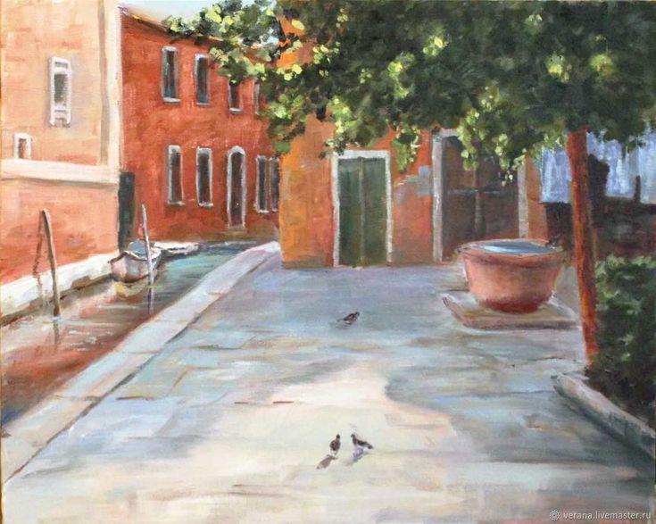 Картина маслом 40х50. Венеция – купить в интернет-магазине на Ярмарке Мастеров с доставкой