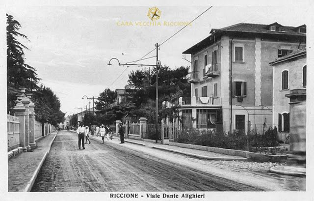 Cara Vecchia Riccione: Viale Dante