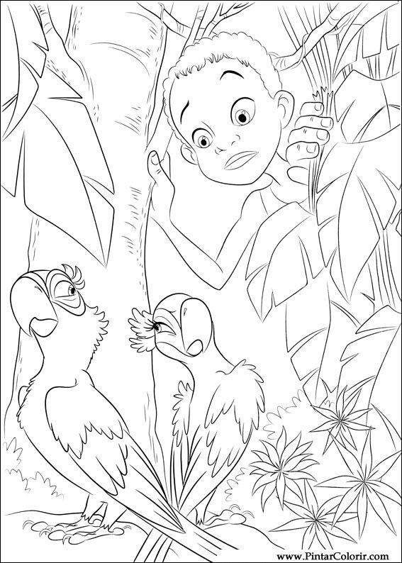 22 best Rio & Rio2 Movies ~ Coloring Pages images on Pinterest | Rio ...