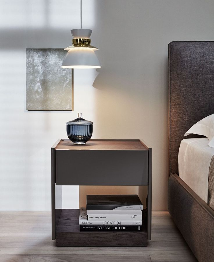 bedside table by molteni