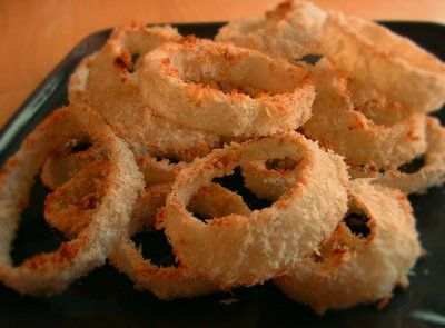 ... Oven-Fried Onion Rings-----I think these can be made allergy friendly