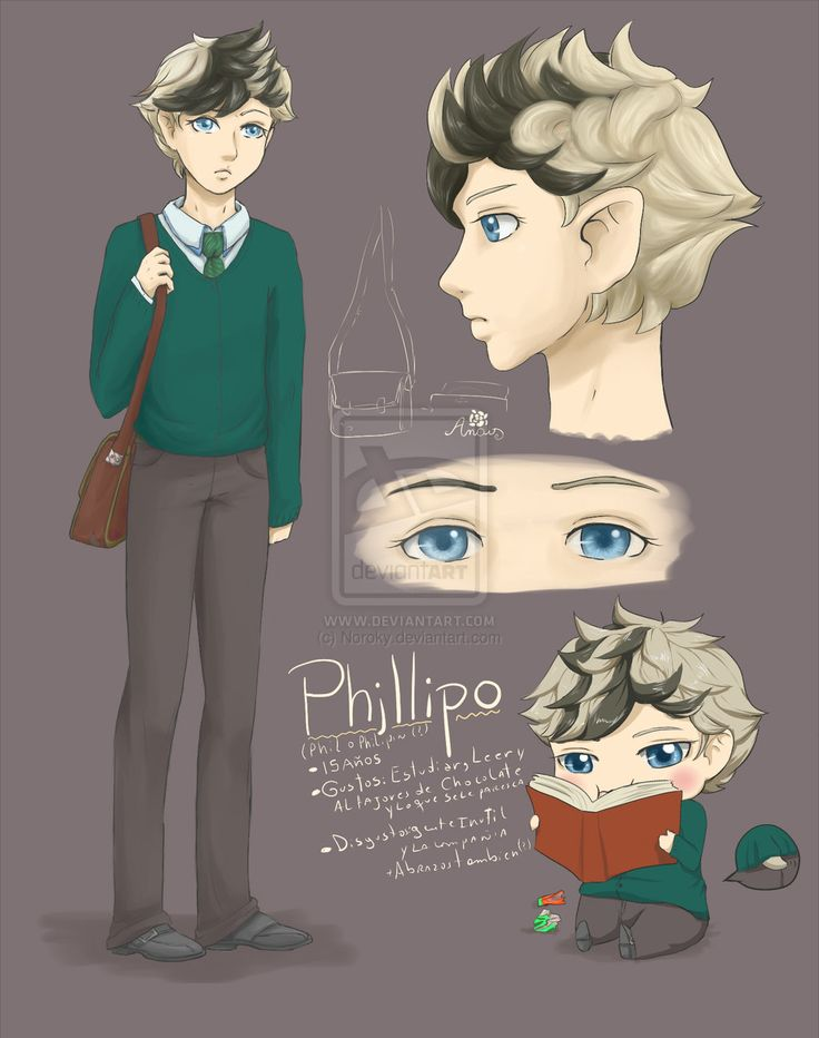 Ref: Phillipo by Noroky.deviantart.com on @deviantART