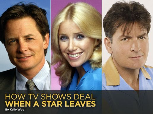Michael J Fox, Charley Sheen, and I believe Suzanne Sommers. All left some pretty popular shows. some more than once.